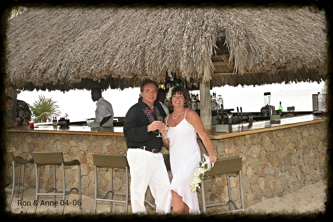 wedding photo negril jamaica