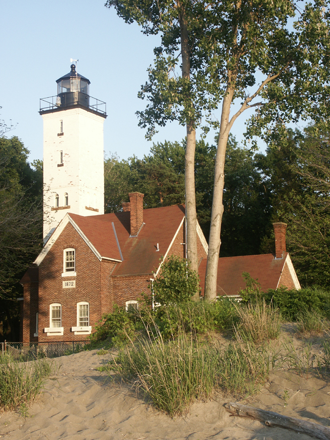beach light house